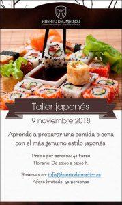 Sushi events Valencia Huerto del medico